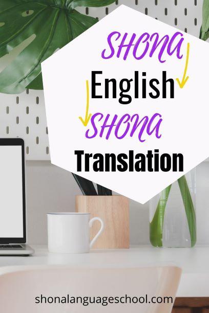 shona translation